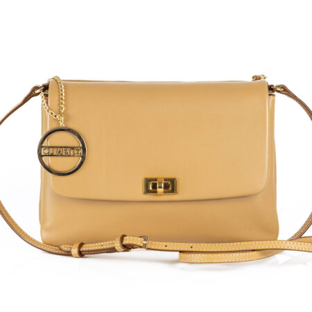 Nude Leather Crossbody Bags